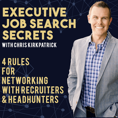 4 Rules for Networking with Recruiters & Headhunters